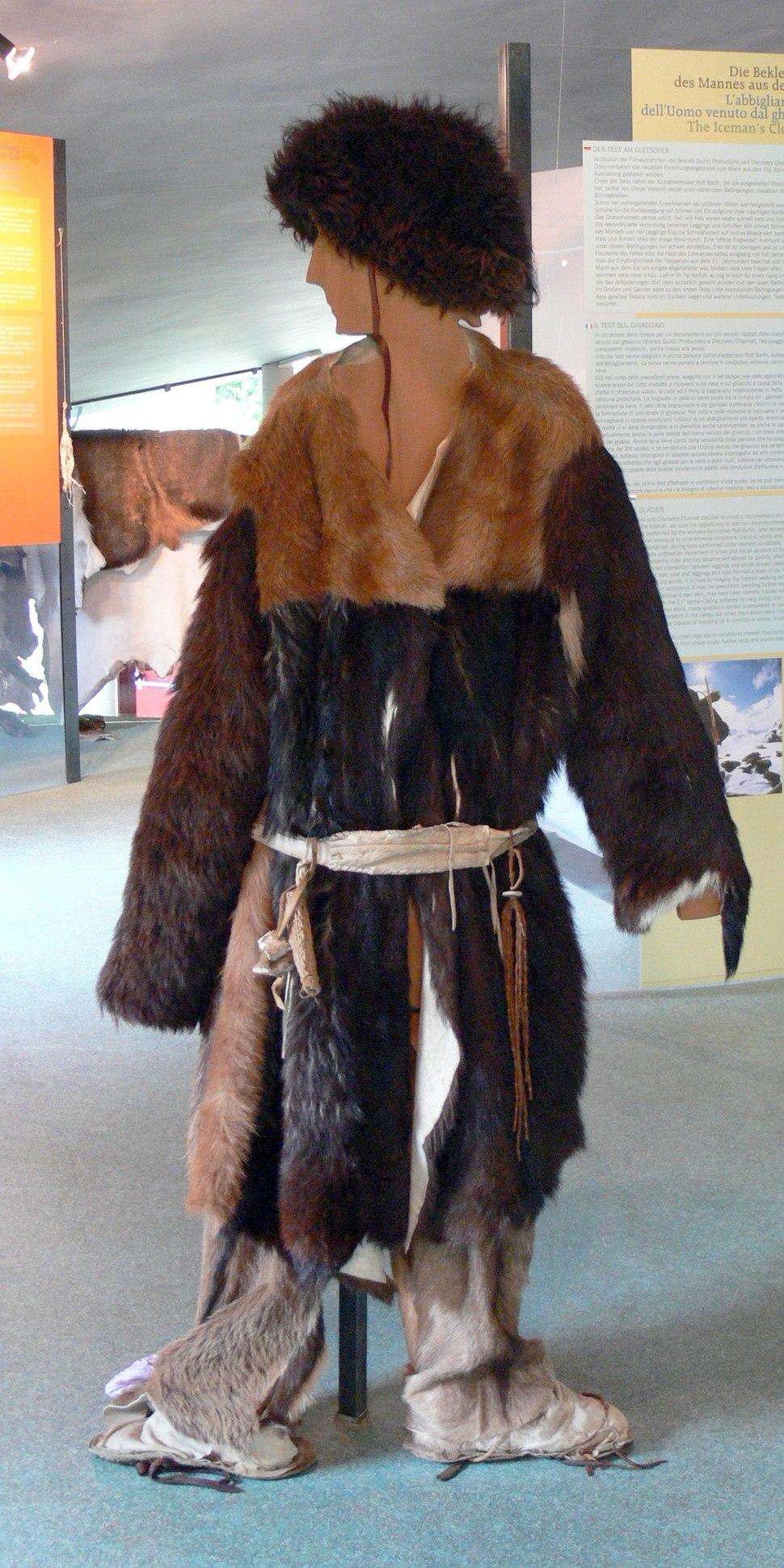 Archeoparc - Museum Ötzi Kleidung