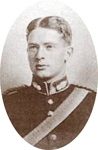 Archie Christie - Archie Christie, 1909, after graduating from the Royal Military Academy