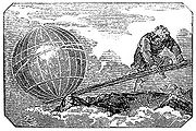 "Archimedes is said to have remarked about the lever: ""Give me a place to stand on, and I will move the Earth."""