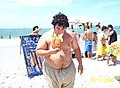 Argentumm disfrutando en la playa - 20061220.jpg