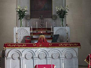 Armenian church of St. Catherine, altar (2), Saint-Petersberg.JPG, автор: Perfektangelll