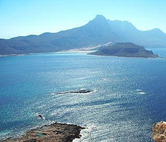 Arnaouti - The islet of Arnaouti.