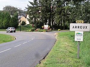 Arreux - Entrance to the village