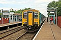Arriva Trains Wales Class 150, 150250, Shotton High Level railway station (geograph 4032037).jpg