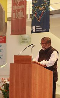 R. Siva Kumar Contemporary Indian art historian art-critic and curator