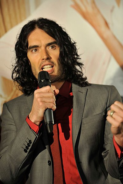Picture of an author: Russell Brand