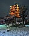 Asakusa during snowfall - Flickr - Manish Prabhune.jpg