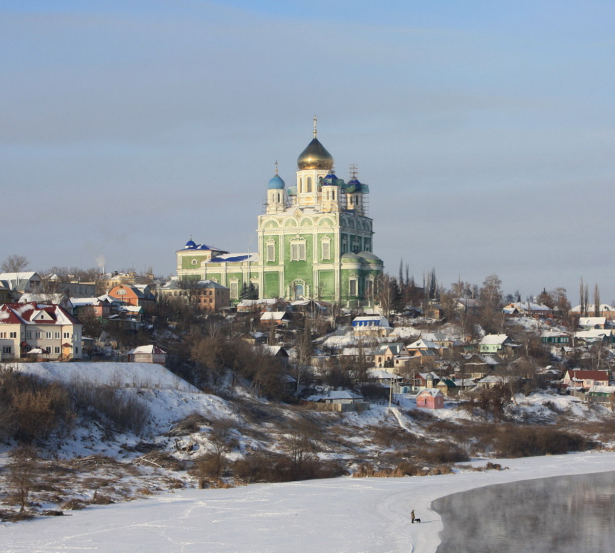 Ascention Cathedral in winter, Yelets.jpg