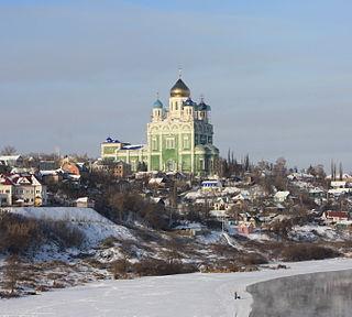 Yelets City in Lipetsk Oblast, Russia