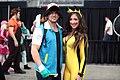 Ash Ketchum & Pikachu cosplayers (23301310770).jpg