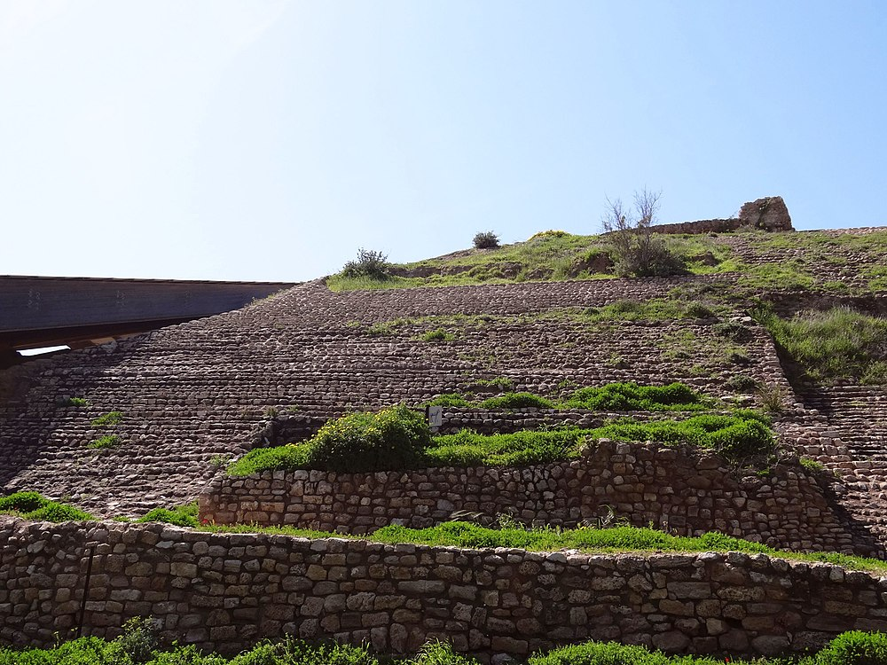 Ashkelon – The Canaanite city gate (2)