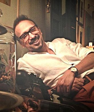 Asim Raza - Asim at his studio, The Vision Factory.