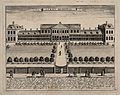 Aske's Hospital, Shoreditch, London; a bird's-eye view of th Wellcome V0013681.jpg
