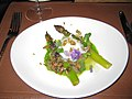 Asparagus and Poached Egg (6709489669).jpg