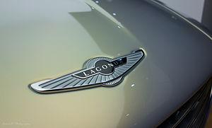 Lagonda Taraf - Lagonda branding on the Taraf