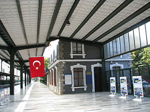 Çankaya Mansion - The residence of Atatürk during the National Campaign was located within Ankara Railway Station Campus