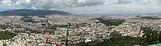 Mount Lycabettus - Image: Athens 4 tango 7174