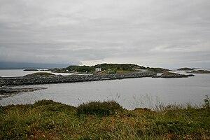 Atlantic Ocean Road - One of the route's causeways