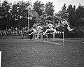 Atletiekwedstrijden Den Haag - Londen Dames hordenloop, Bestanddeelnr 912-7712.jpg