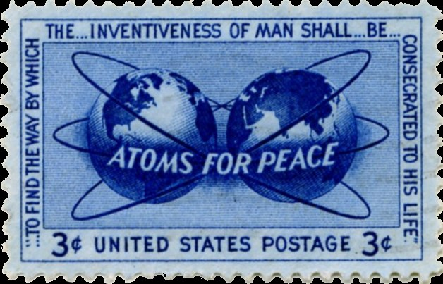 Atoms for Peace stamp