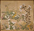 Attributed to Ogata Korin - Important Art Object Flowering Plants in Autumn - Google Art Project.jpg