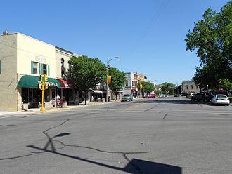 Auburn, Indiana - Main Street in downtown Auburn, Indiana