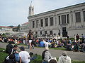 Audience on Memorial Glade for Cold War Kids concert at Cal Day 2010 3.JPG