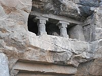 Aurangabad caves close view.jpg