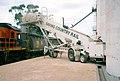 AusRailLoader, a mobile fast grain loader designed by AusBulk, at Lock, South Australia, 10 April 2006 (PJKnife BMM-05).jpg