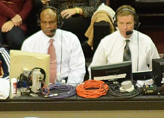 Cleveland Cavaliers - Cavaliers TV announcers Austin Carr (left) and Fred McLeod (right)