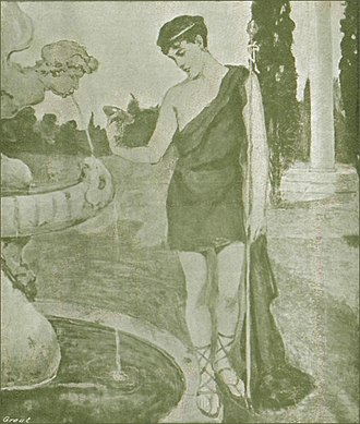 Frederic H. Balfour - Frontispiece in the 1906 novel Austin And His Friends