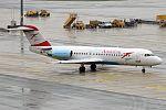 Austrian Airlines, OE-LFI, Fokker F70 (30619445994).jpg