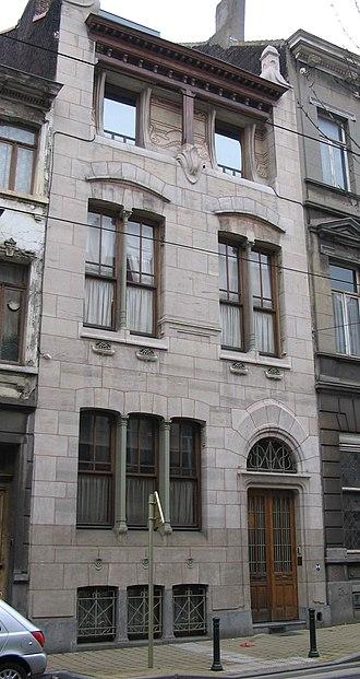 Victor Horta - Autriquehuis/Maison Autrique