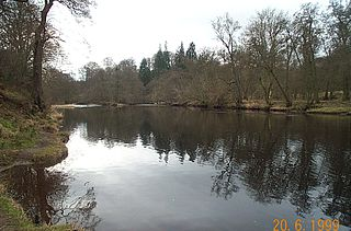 River Teith river in the United Kingdom