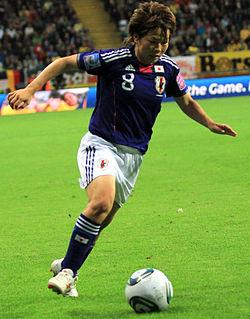 Aya Miyama Japanese association football player