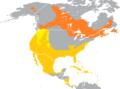 Aythya collaris range map.png
