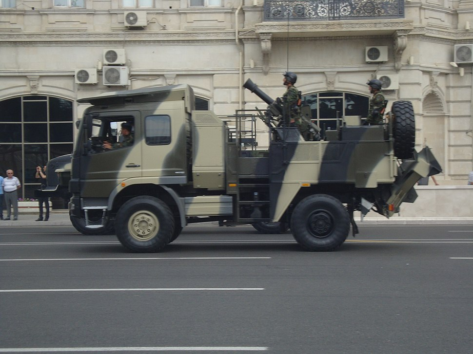 Azeri HE Mortar Bomb, parade in Baku, 2013