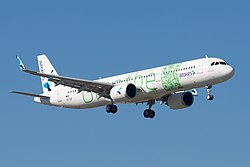 Airbus A321-200 der Azores Airlines