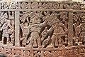 Aztec Stone Cuauhxicalli of Moctezuma I Depicting one of 11 Conquest Scenes.jpg