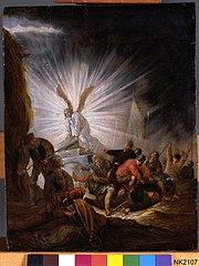 De engel bij het graf