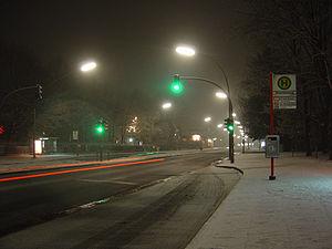 Bundesstraße 431 - B431 in Groß Flottbek, Hamburg