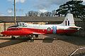 BAC Jet Provost T4 XP556 B (6953452663).jpg