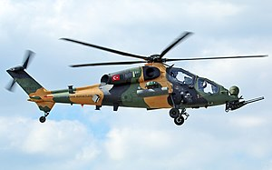 T-129 ATAK 2014 Farnborough Airshow'da