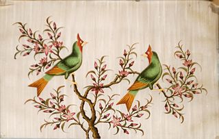 Green Landscape with Birds (Eastern)