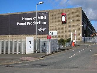 Pressed Steel Company - Swindon Pressings plant, Swindon