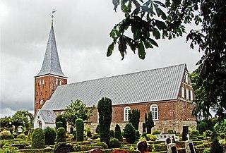 Bredebro town in Denmark