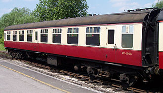 British Rail corporate liveries - British Railways coaches in the crimson and cream livery used from 1949