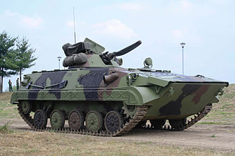 Equipment of the Serbian Army - Image: BVP М80А VS