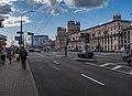 Babrujskaja street and Pryvakzalnaja square (Minsk) p02.jpg