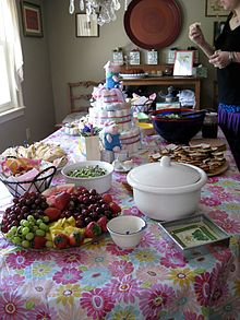 Foods For Baby Girl Shower